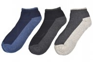 Kotníkové termo ponožky LOOKeN DAMEN ZTY-NST308 - 3 páry, velikost 43-46