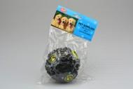 Plastová hračka pro psy se zvukem kachny - Černá koule (9cm)
