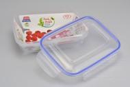 Plastový box na potraviny se silikonovým těsněním (20,5x15x6,5cm) - 975ml