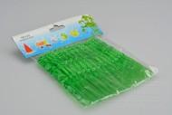 Plastové napichovátka na jednohubky 50ks - Zelené (11cm)
