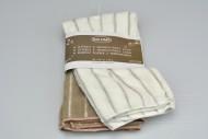 Sada 2ks utěrky z mikrovlákna SALOME 220g - Šedá a bílá (40x48cm)