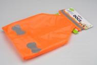 Reflexní vesta pro středně velké psy - Oranžová (55,5x29cm)