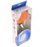 Masážní sprchová hlavice - 5 funkcí - Oranžová