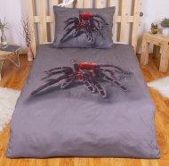 3D povlečení BedStyle 140x200 + 70x90 - Pavouček