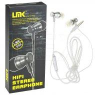 Hifi stereo sluchátka - LMK-059 - stříbrná