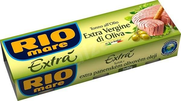 Rio Mare Tuňák v extra panenském olivovém oleji 3x80 g