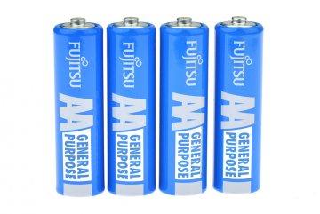Baterie FUJITSU 4ks - 1,5V AA (R6)