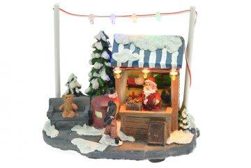 Vánoční scéna - Obchod s dárky