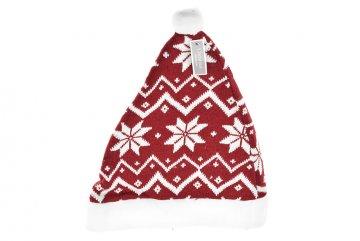 Vánoční čepice - Vločky