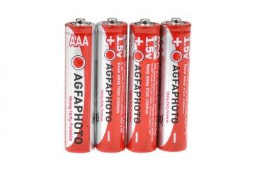 Zinková baterie Agfa Photo AAA R03 - 4ks