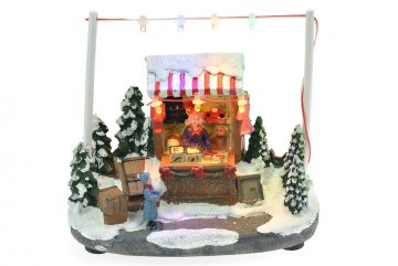 Vánoční scéna - Obchod s hračkami