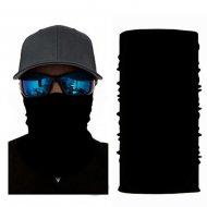 Multifunkčná šatka / Nákrčník BLACK ON BLACK 58