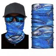 Multifunkčná šatka / Nákrčník BLUE FISH 40