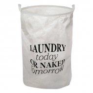Koš na prádlo Bílý 111089