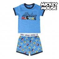 Pyžamo Dětské Mickey Mouse Modrý - 6 roků