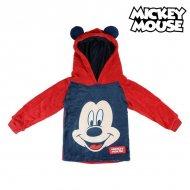 Dětská mikina s kapucí Mickey Mouse 74224 Červený - 5 roků