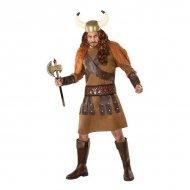 Kostým pro dospělé 113985 Viking Kaštanová (3 Pcs) - XL