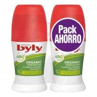 Kuličkový deodorant Organic Extra Fresh Activo Byly (2 uds)