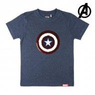 Dětské tričko s krátkým rukávem The Avengers Námořnický modrý - 14 roků