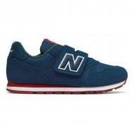 Dětské vycházkové boty New Balance KV373 PDY Námořnický modrý - 35
