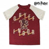 Dětské tričko s krátkým rukávem Harry Potter Burgundská - 8 roků
