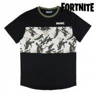 Děstké Tričko s krátkým rukávem Fortnite Černý - 14 roků