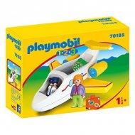 Playset 1.2.3 Airplane Playmobil 70185 (5 pcs)