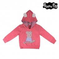 Dívčí mikina s kapucí Peppa Pig 74230 Růžový - 6 roků