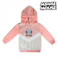 Dětská mikina s kapucí Minnie Mouse 74239 Růžový - 6 roků