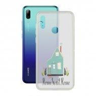Pouzdro na mobily Huawei P Smart 2019 Home Contact Flex Home TPU