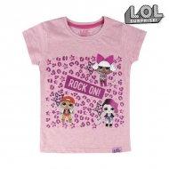 Děstké Tričko s krátkým rukávem LOL Surprise! 74043 Růžový - 5 roků