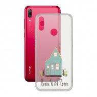 Pouzdro na mobily Huawei Y7 2019 Contact Flex Home TPU