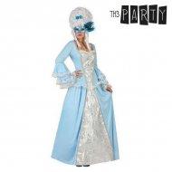 Kostým pro dospělé Dvorní dáma Modrý - XS/S