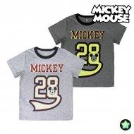 Děstké Tričko s krátkým rukávem Mickey Mouse Svítící ve tmě - 2 roky