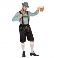 Kostým pro dospělé Němčina Zelená (2 Pcs) - XL