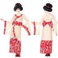 Kostým pro dospělé Gejša Růžový (2 Pcs) - XS/S