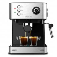 Ruční přístroj na espresso Cecotec Power Espresso 20 Professionale 1,5 L Stříbřitý Černý