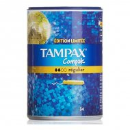 normální tampóny Compak Tampax (14 uds)