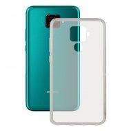 Pouzdro na mobily Huawei Mate 30 Lite Contact Flex TPU Transparentní