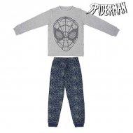 Pyžamo Dětské Spiderman 74807 Šedý Modrý (2 Pcs) - 8 roků