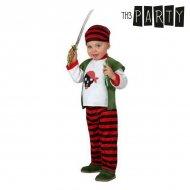 Kostým pro miminka Pirát - 0–6 měsíců