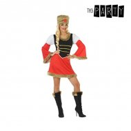 Kostým pro dospělé Ruska Červený (2 Pcs) - M/L
