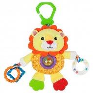 Měkká hračka pro děti na aktivity Nenikos Lev +3m 112238