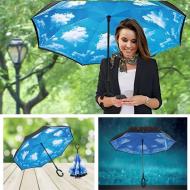 Obrácený deštník - nebe
