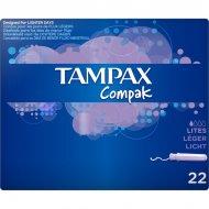 mini tampón Compak Tampax (22 uds)