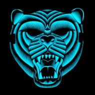 Maska Led Tygr