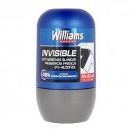 Kuličkový deodorant Invisible Williams (75 ml)