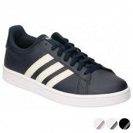 Pánské vycházkové boty Adidas Grand Court Base - Černý, 46
