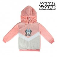 Dětská mikina s kapucí Minnie Mouse 74239 Růžový - 4 roky