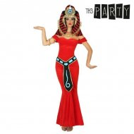 Kostým pro dospělé Egypťanka Červený - M/L